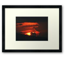 ©TSS The Sun Series X Framed Print