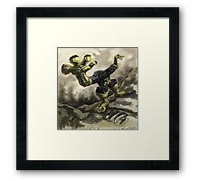 Robotic Monster Framed Print