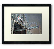 Vintage Livery Framed Print