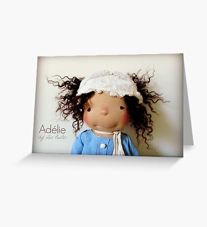 Sweet Adélie Greeting Card