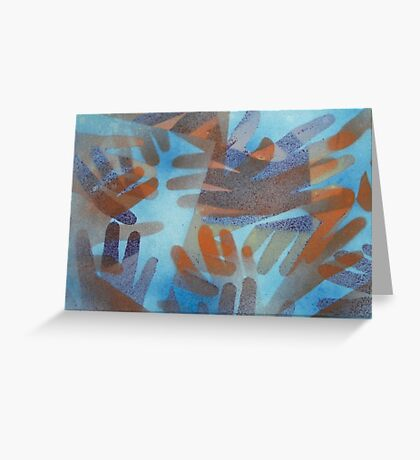 The hands of the Drowned Greeting Card