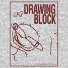 Cheryl's Drawing Block - Red by chemiro