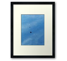 ©HCS Hunting The Moon IA Framed Print