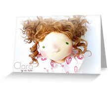 Clara 2 Greeting Card