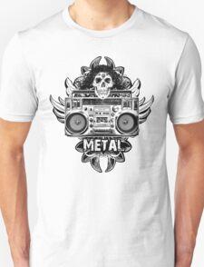 Heavy Metal Boombox T-Shirt