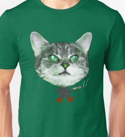 Cat Smoke Unisex T-Shirt