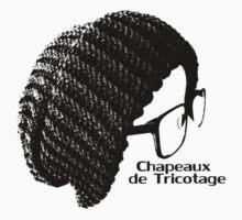 Chapeaux De Tricotage Logo w/Name.2 by PezPDX