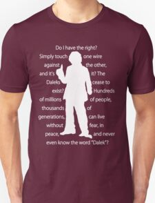 4th doctor quote shirt T-Shirt