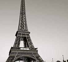 Eiffel Tower from the Seine, Paris by missanathema