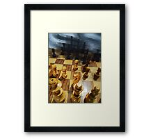 ©HS Who Moves IA Framed Print
