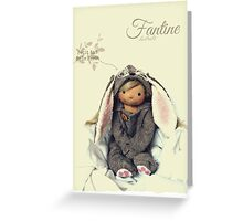 Fantine Greeting Card