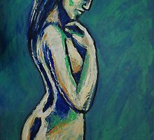 Romantic Dreamer - Female Nude by CarmenT