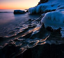 Beginning of theTwilight hour, Lake Superior by Michael Treloar