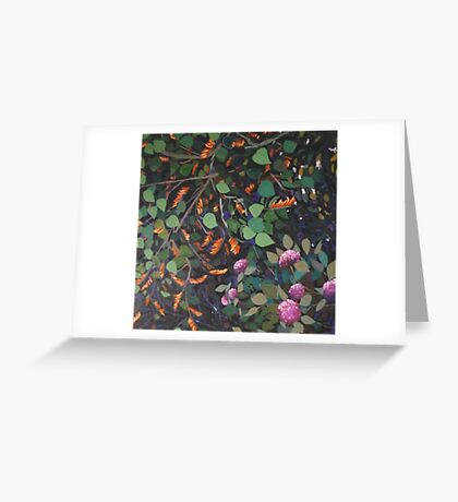 Dream Coral Tree Greeting Card