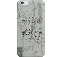 Not All Those Who Wander Are Lost- Middle Earth Map iPhone Case/Skin