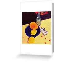 Blue Plate, Clifton Hill. Greeting Card