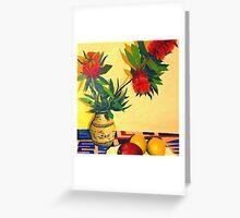 Ant Vase. Greeting Card