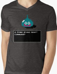 A Slime draws near! Mens V-Neck T-Shirt