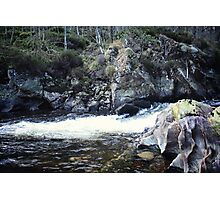 Rushing Water In The Cairngorms Photographic Print