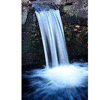 Wee Waterfall Photographic Print