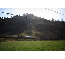 Barbed Wire Sky Photographic Print