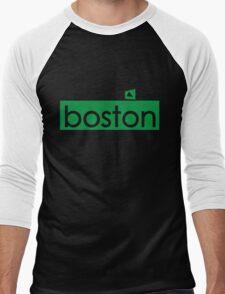 The Green Monstah Men's Baseball ¾ T-Shirt