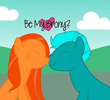 Be My Brony Valentines by ZantheClothing