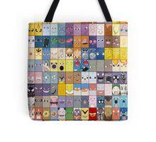 Original Kanto 151 First Generation Poster Tote Bag