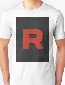 Team Rocket Logo Design Poster Pokemon Original T-Shirt