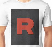 Team Rocket Logo Design Poster Pokemon Original Unisex T-Shirt