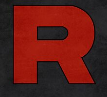 Team Rocket Logo Design Poster Pokemon Original by Jorden Tually