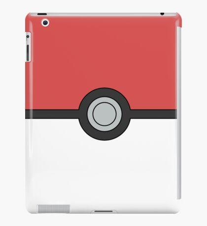 Pokemon Pokeball Minimal Design Poster iPad Case/Skin