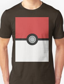 Pokemon Pokeball Minimal Design Poster T-Shirt