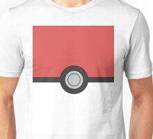 Pokemon Pokeball Minimal Design Poster Unisex T-Shirt