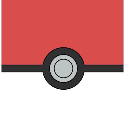 Pokemon Pokeball Minimal Design Poster Sticker