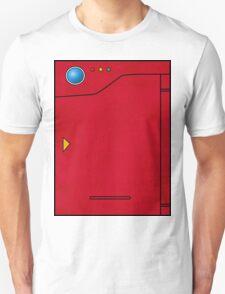 Pokedex Pokemon Design Dexter Unisex T-Shirt