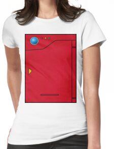 Pokedex Pokemon Design Dexter Womens Fitted T-Shirt