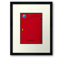 Pokedex Pokemon Design Dexter Framed Print