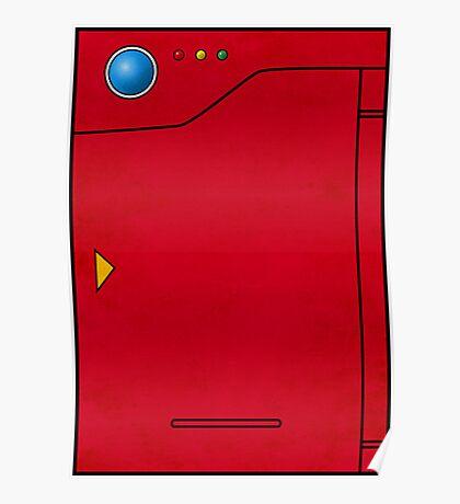 Pokedex Pokemon Design Dexter Poster