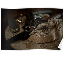 USMC Tools of the Trade Poster