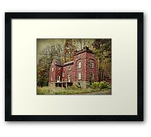 Once upon a time, long ago and far away Framed Print