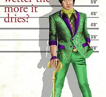 Howard Wolowitz Riddler by Rembranded