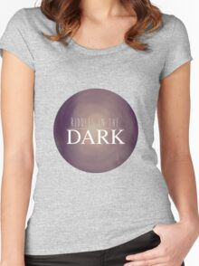 RIDDLES IN THE DARK Women's Fitted Scoop T-Shirt