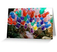 Disneyland Balloons! Greeting Card