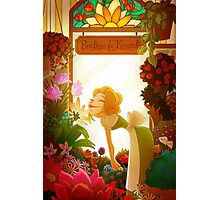 flower shop Photographic Print