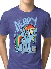 Derpy Dash (My Little Pony: Friendship is Magic) Tri-blend T-Shirt