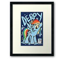 Derpy Dash (My Little Pony: Friendship is Magic) Framed Print
