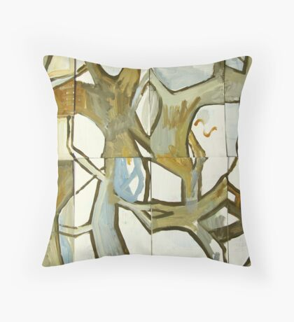 searching for the singing (hanging) tree Throw Pillow