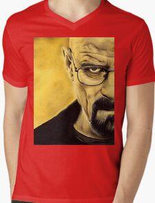 Breaking Bad- Heisenberg Mens V-Neck T-Shirt