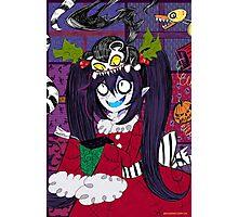 Scary Christmas Photographic Print